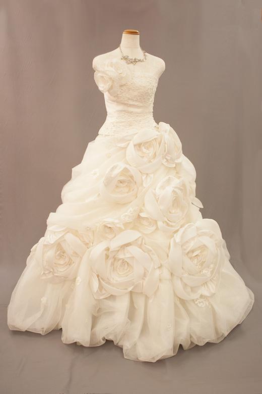 ウェディングドレス001