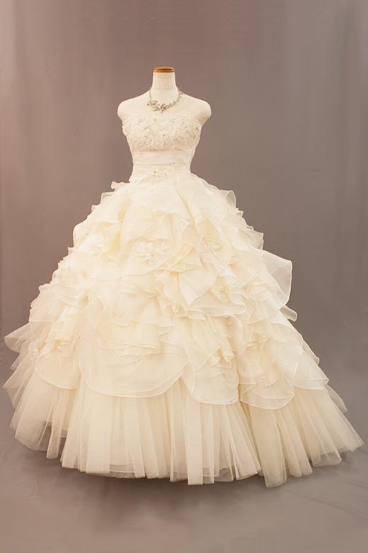 ウェディングドレス003