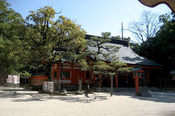 住吉神社の境内