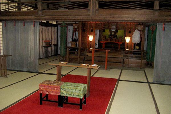住吉神社の神前結婚式場