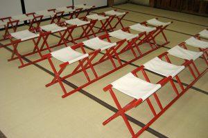 住吉神社の神前結婚式場 一般席