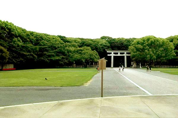 福岡縣護国神社の境内