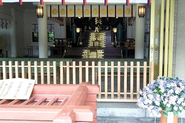 福岡縣護国神社の本殿
