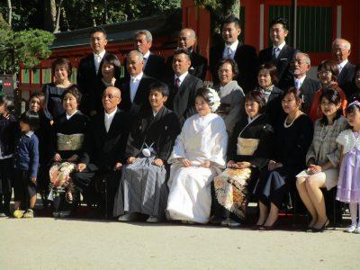 筑前一之宮 住吉神社での神社挙式