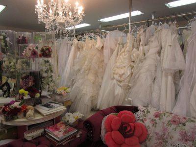 福岡市博多区の結婚式衣装店 ブライダルトマト店内3