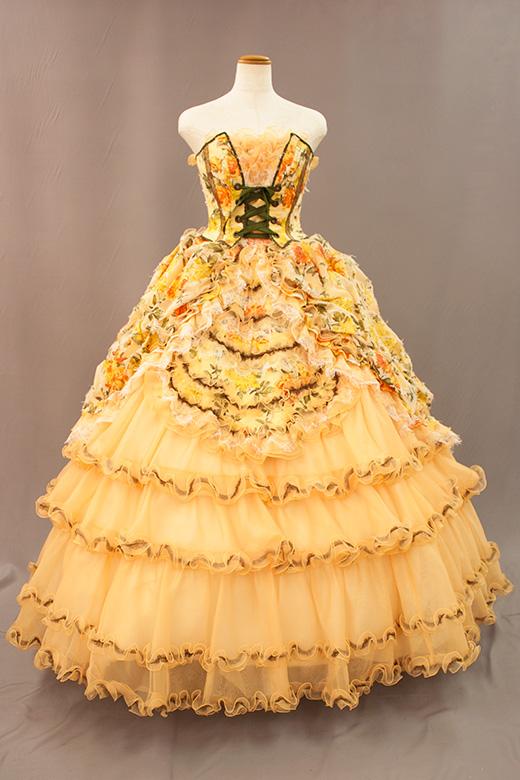 カラードレス011