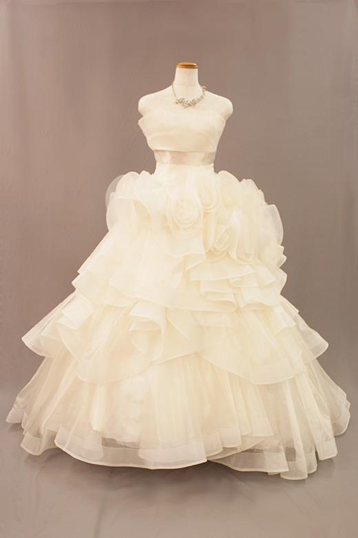 ウェディングドレス004