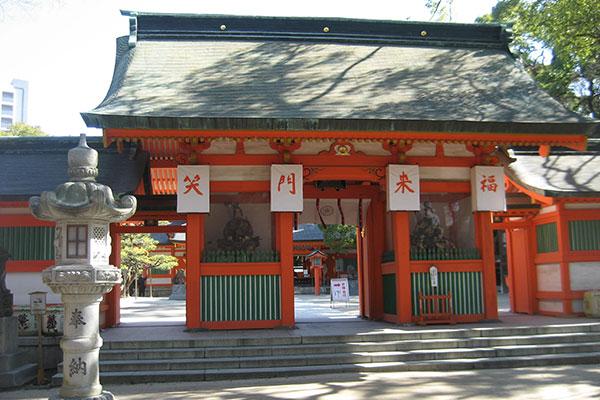 住吉神社の楼門