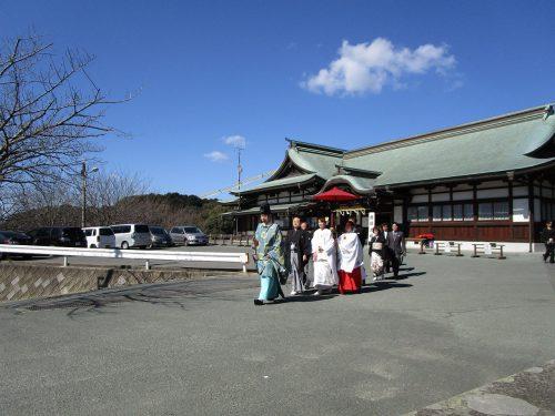 宮地嶽(みやじだけ)神社 挙式