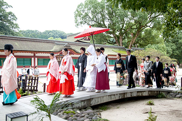 太宰府天満宮での結婚式