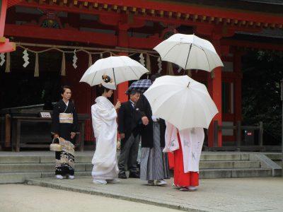 福岡 住吉神社の御本殿参り(参進の儀)