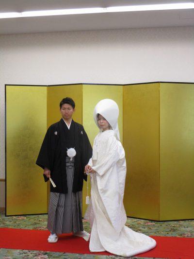 白無垢と綿帽子イメージ
