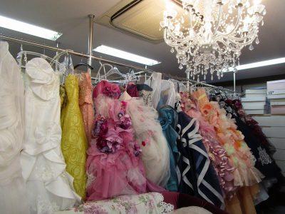 福岡市内の衣裳サロン(和装と洋装)2