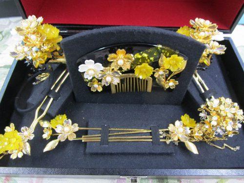 簪(かんざし)イメージ2(福岡の婚礼衣装サロン)