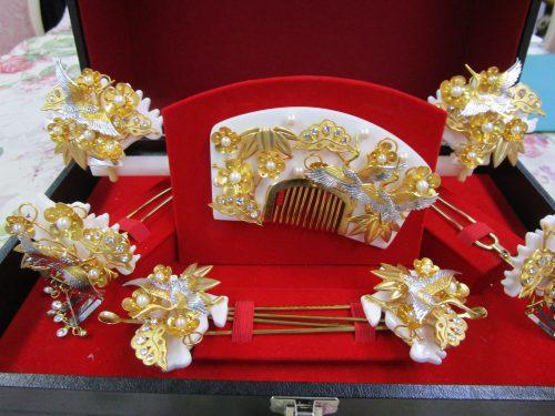 簪(かんざし)イメージ1(福岡の婚礼衣装サロン)