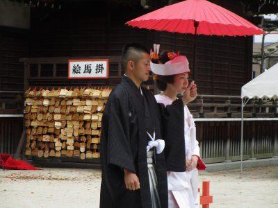 住吉神社 参進の儀 記念写真