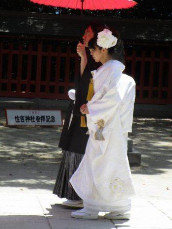 福岡の住吉神社 ご本殿参りの儀式