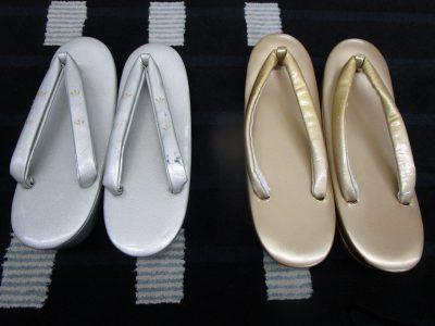 神社挙式の留袖に合わせる草履