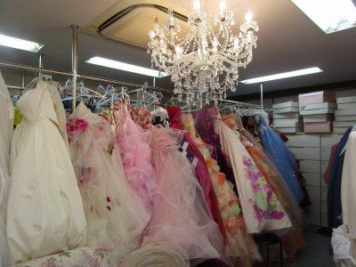 福岡市博多区の結婚式衣装店 ブライダルトマト店内2