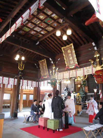 博多の櫛田神社 祝詞